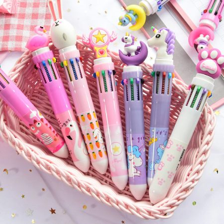Ballpoint Pens with Cute Animals