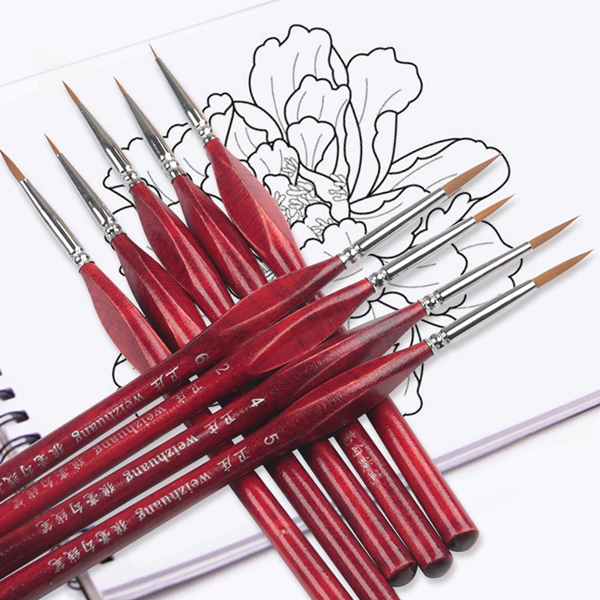 Brushes For Drawing By Numbers
