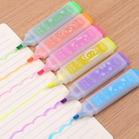 Cute Colored Markers