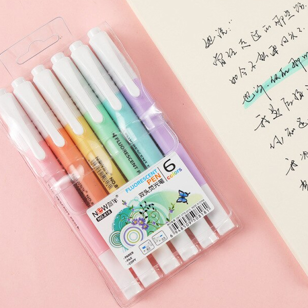 Cute Set Of Colored Markers