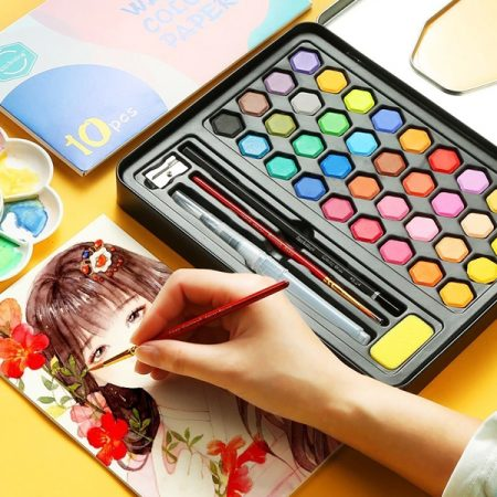 High Quality Solid Pigment Watercolor Paints