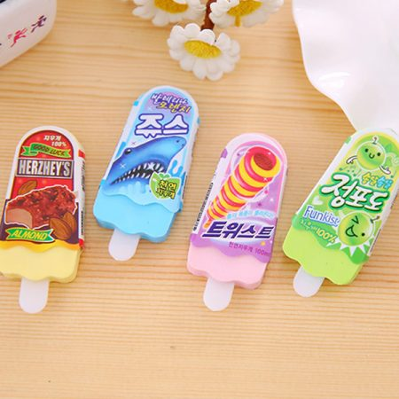 Pieces Of High Quality Cute Ice Eraser