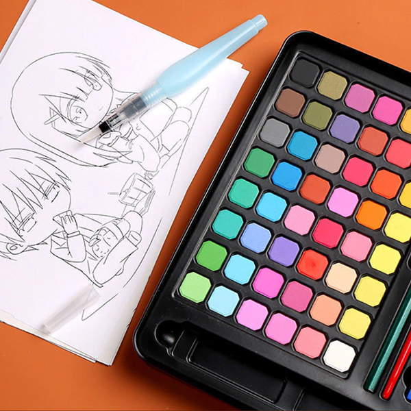 Solid Watercolour Paints For Drawing