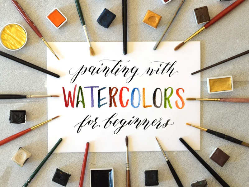Painting With Watercolours For Beginners
